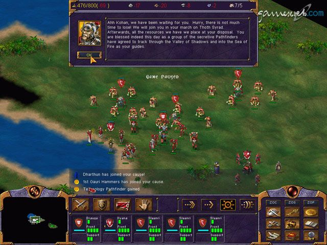 Kohan: Battle of Ahriman - Screenshots - Bild 13