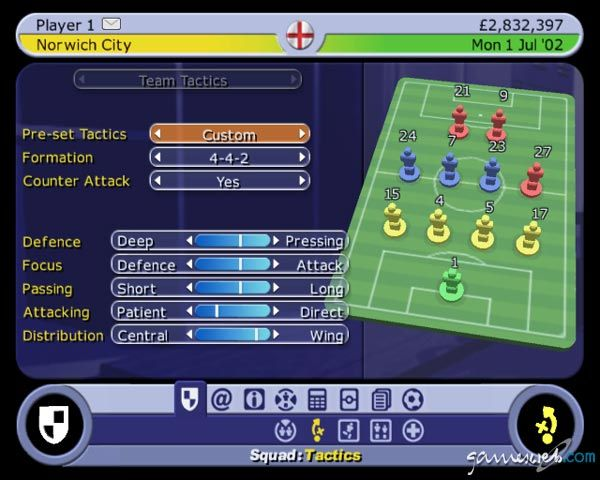 BDFL Manager 2003  Archiv - Screenshots - Bild 7