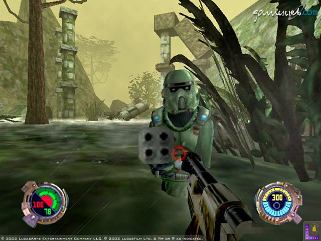 Скриншоты к игре Star Wars Jedi Knight II: Jedi Outcast (Xbox) .