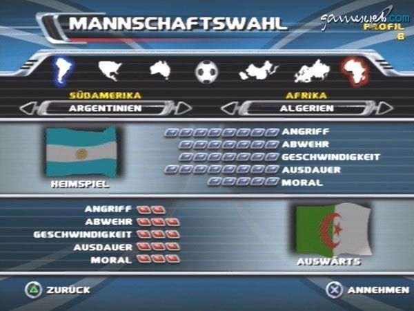 Red Card Soccer - Screenshots - Bild 3