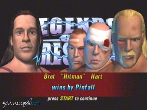 Legends of Wrestling - Screenshots - Bild 21