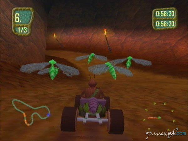 Antz Extreme Racing - Screenshots - Bild 6
