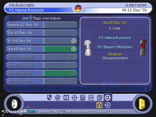 BDFL Manager 2002 - Screenshots - Bild 11