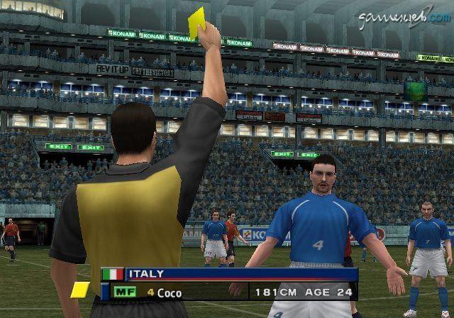 Pro Evolution Soccer 2  Archiv - Screenshots - Bild 9