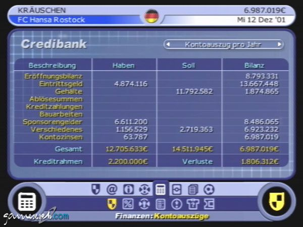 BDFL Manager 2002 - Screenshots - Bild 5