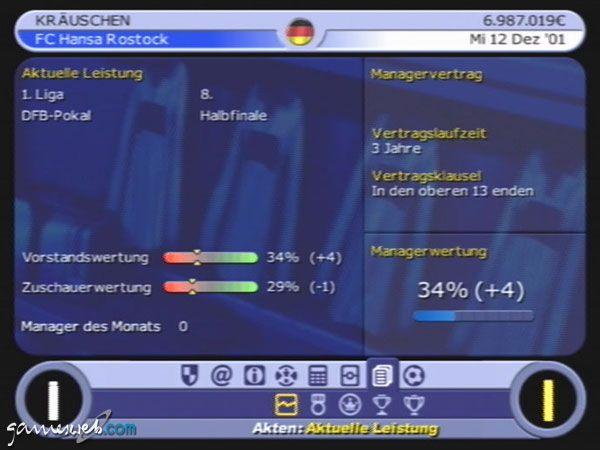 BDFL Manager 2002 - Screenshots - Bild 4