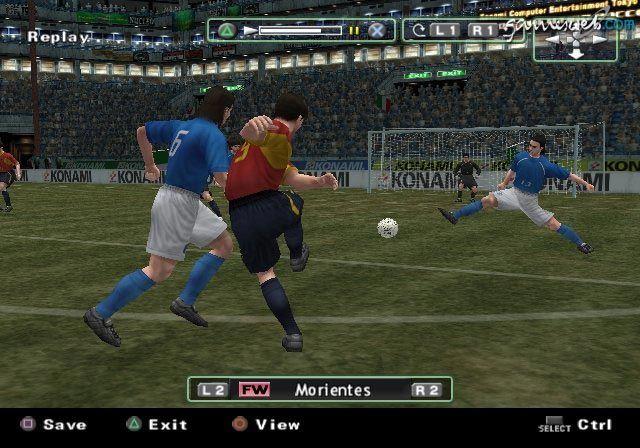 Pro Evolution Soccer 2  Archiv - Screenshots - Bild 10