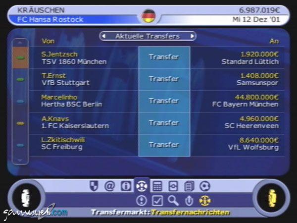 BDFL Manager 2002 - Screenshots - Bild 17
