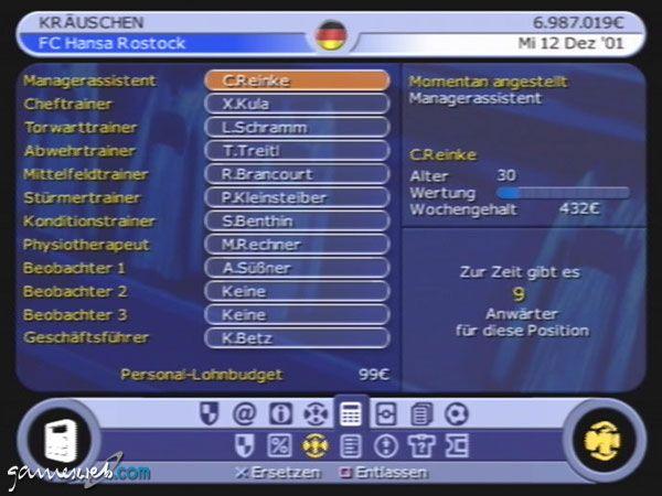BDFL Manager 2002 - Screenshots - Bild 7