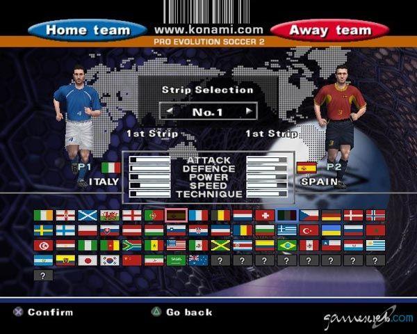 Pro Evolution Soccer 2  Archiv - Screenshots - Bild 4
