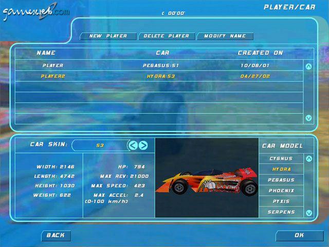 Virtual Racer: Jacques Villeneuve's Racing Vision  Archiv - Screenshots - Bild 2