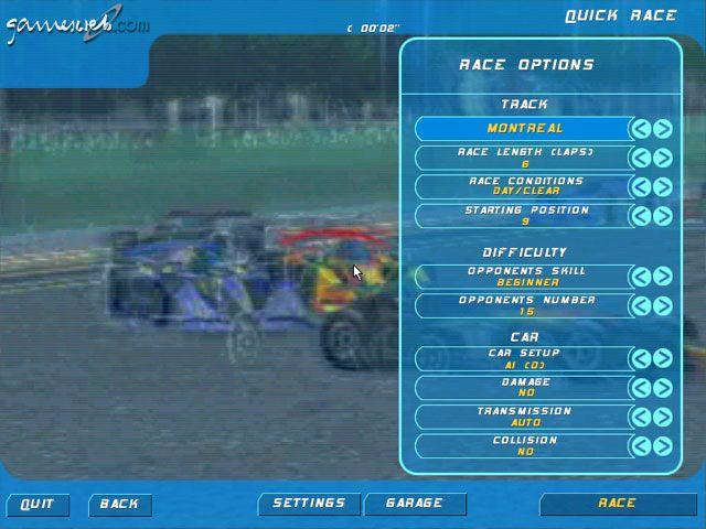 Virtual Racer: Jacques Villeneuve's Racing Vision  Archiv - Screenshots - Bild 7