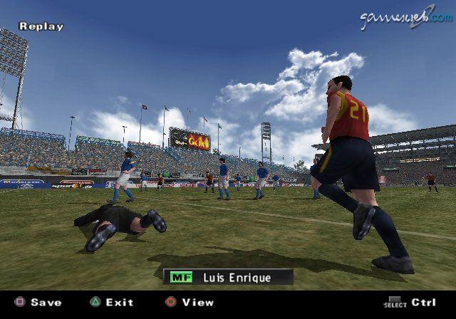 Pro Evolution Soccer 2  Archiv - Screenshots - Bild 8