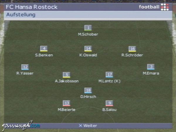 BDFL Manager 2002 - Screenshots - Bild 20