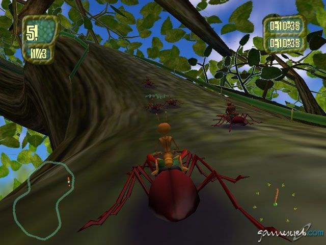Antz Extreme Racing - Screenshots - Bild 8