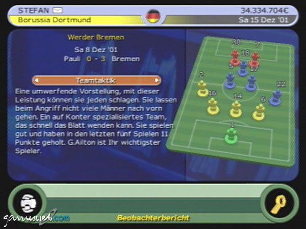 BDFL Manager 2002 - Screenshots - Bild 14