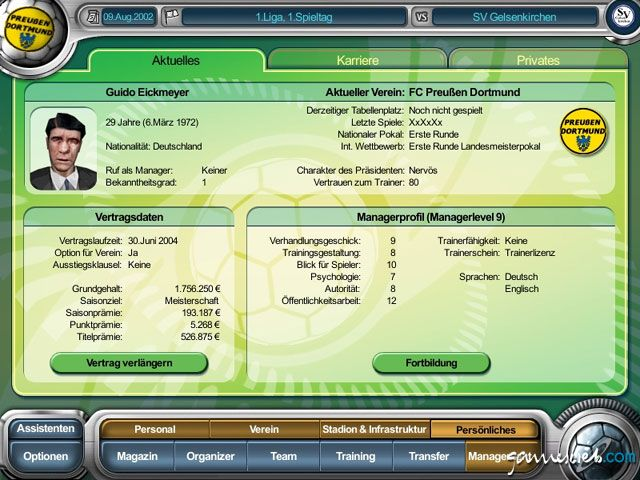 Anstoss 4  Archiv - Screenshots - Bild 11