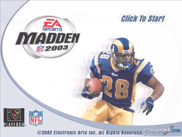 Madden NFL 2003 - Screenshots - Bild 2