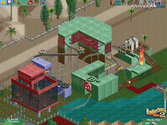 RollerCoaster Tycoon 2  Archiv - Screenshots - Bild 18