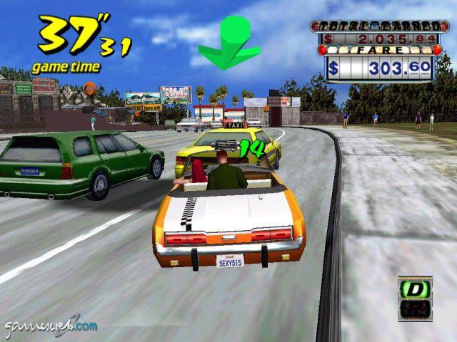 Crazy Taxi - Screenshots - Bild 11