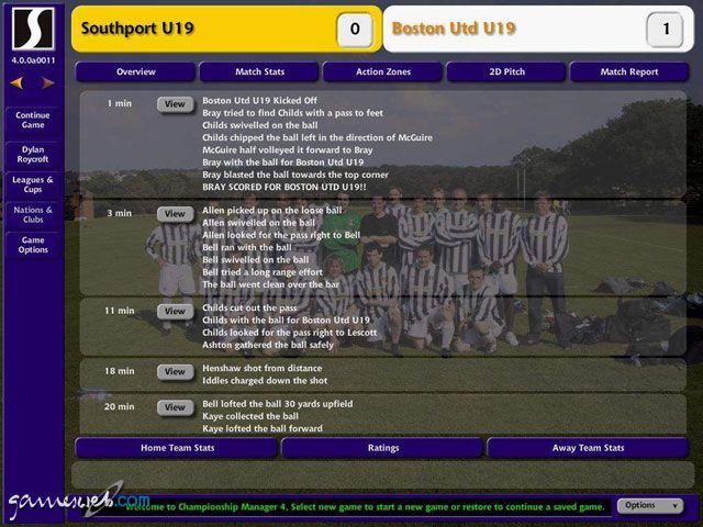 Championship Manager 4  Archiv - Screenshots - Bild 6