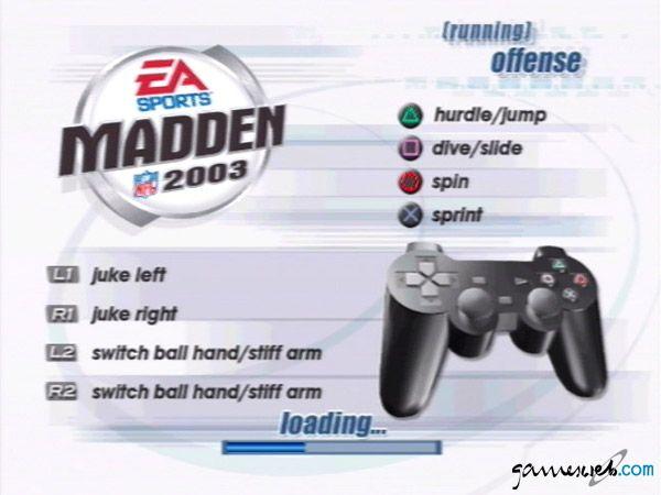Madden NFL 2003 - Screenshots - Bild 2