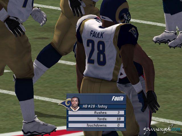 Madden NFL 2003 - Screenshots - Bild 19