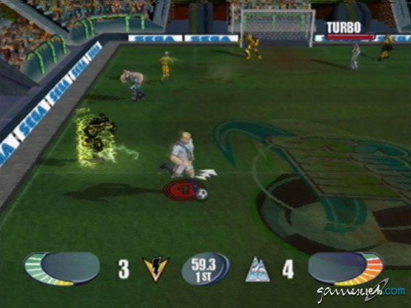 Sega Soccer Slam - Screenshots - Bild 2