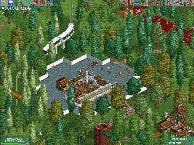 Rollercoaster Tycoon 2 - Screenshots - Bild 19