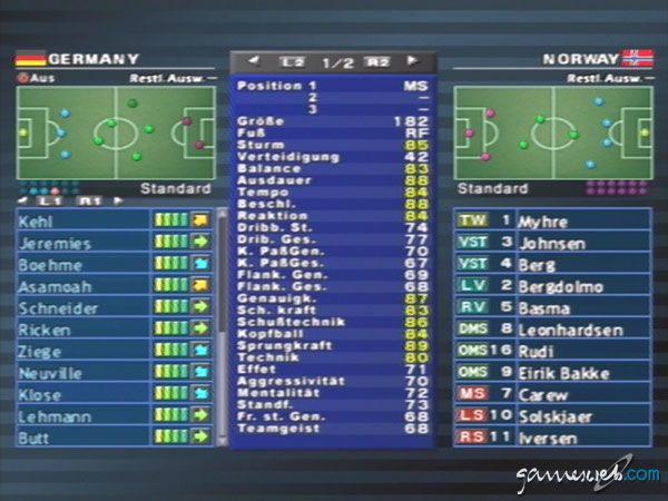 Pro Evolution Soccer 2 - Screenshots - Bild 7