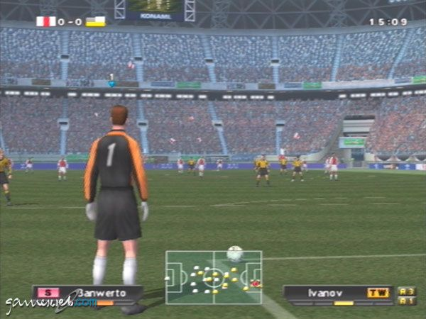 Pro Evolution Soccer 2 - Screenshots - Bild 2