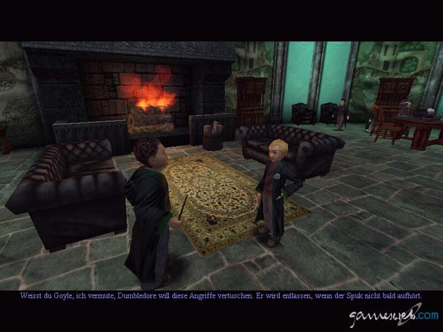 Harry Potter Und Die Kammer Des Schreckens Screenshots Von Gameswelt