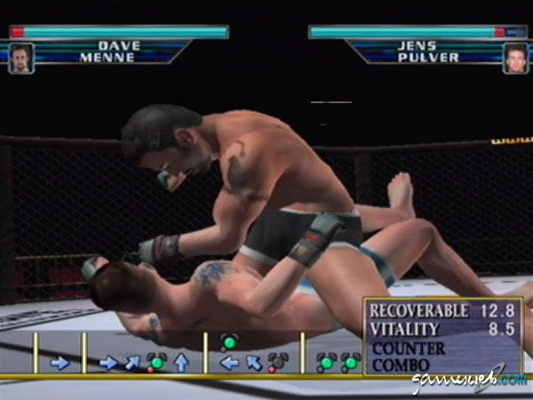 UFC: Throwdown - Screenshots - Bild 3