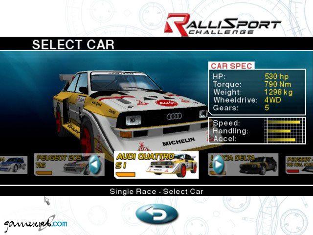 Rallisport Challenge - Screenshots - Bild 4