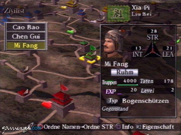 Dynasty Tactics - Screenshots - Bild 4