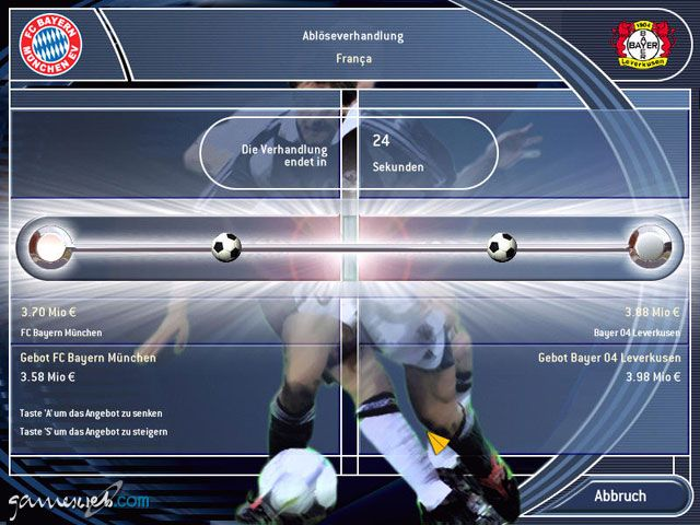 Fussball Manager 2003 - Screenshots - Bild 20