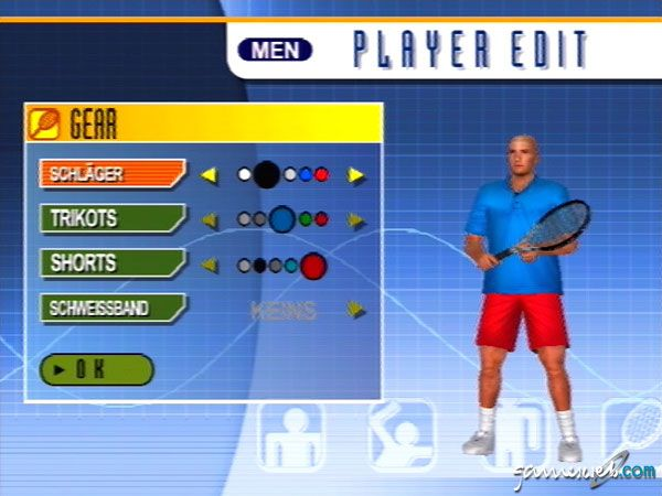 Virtua Tennis 2 - Screenshots - Bild 4