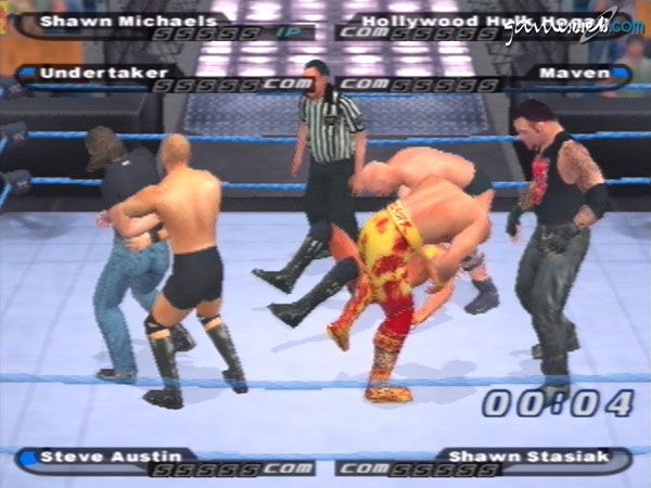 WWE SmackDown!: Shut Your Mouth! - Screenshots - Bild 4