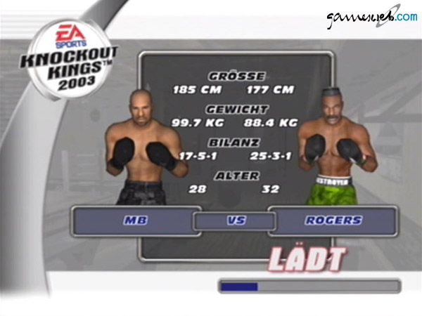 Knockout Kings 2003 - Screenshots - Bild 11