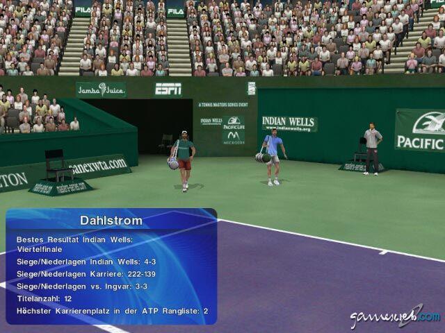 Tennis Masters Series 2003 - Screenshots - Bild 8