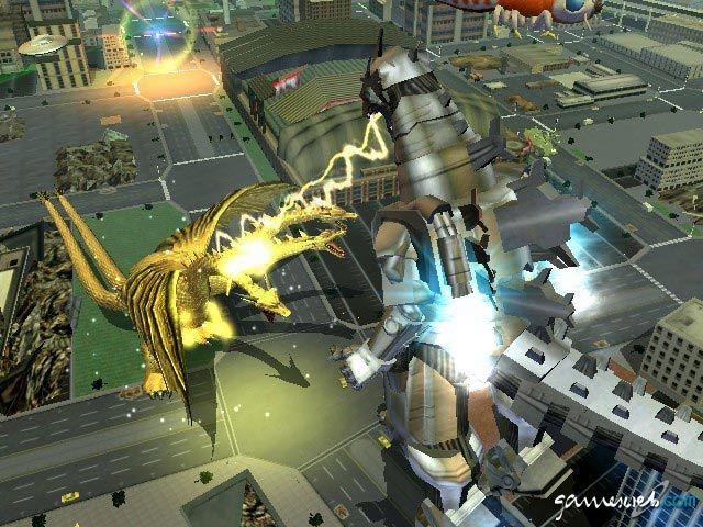 Godzilla: Destroy All Monsters Melee  Archiv - Screenshots - Bild 5