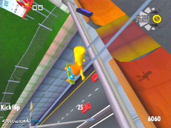 Simpsons Skateboarding - Screenshots - Bild 4