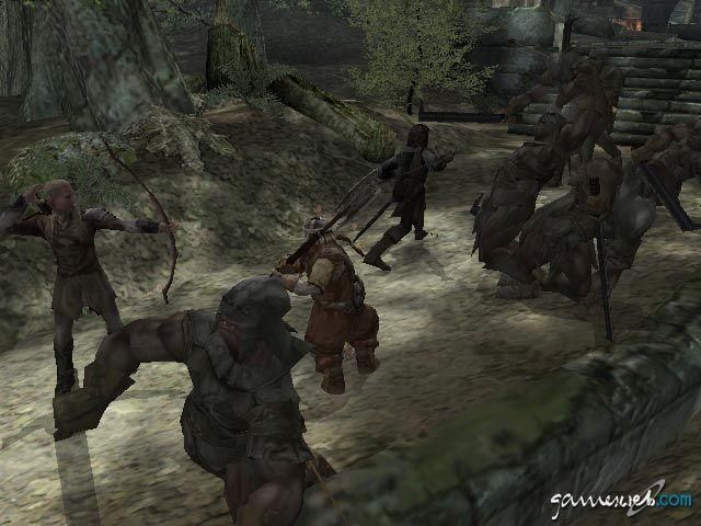 Lord Of The Rings The Two Towers Screenshots Von Gameswelt
