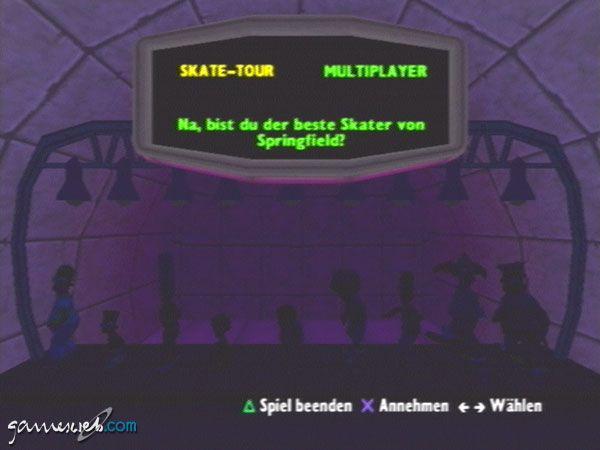 Simpsons Skateboarding - Screenshots - Bild 3