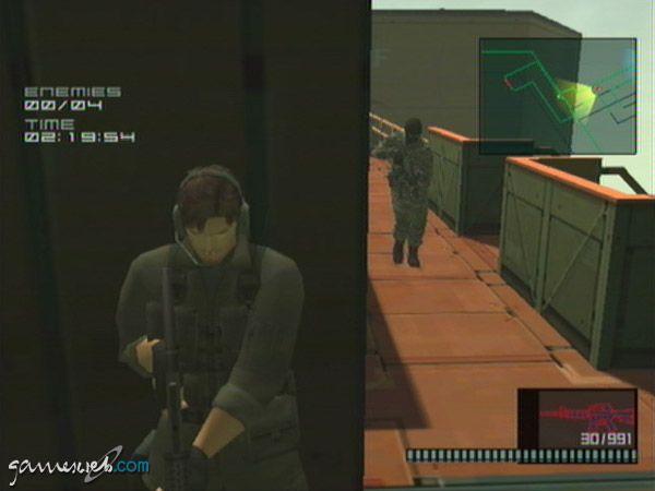 Metal Gear Solid 2: Substance - Screenshots - Bild 23