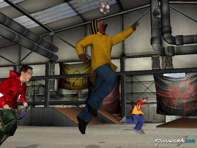 Urban Freestyle Soccer  Archiv - Screenshots - Bild 9