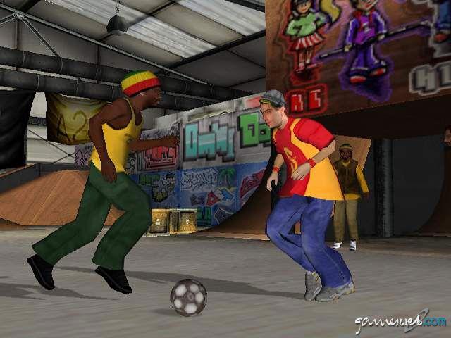 Urban Freestyle Soccer  Archiv - Screenshots - Bild 7