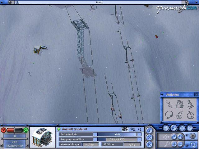 Val d'Isère Ski Park Manager - Screenshots - Bild 2
