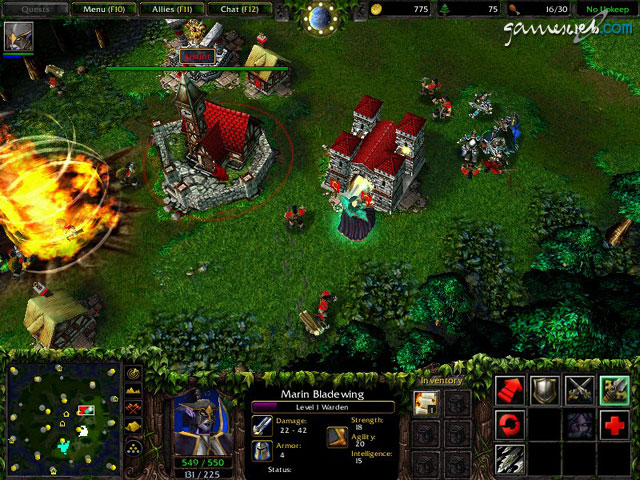 warcraft 3 strategien