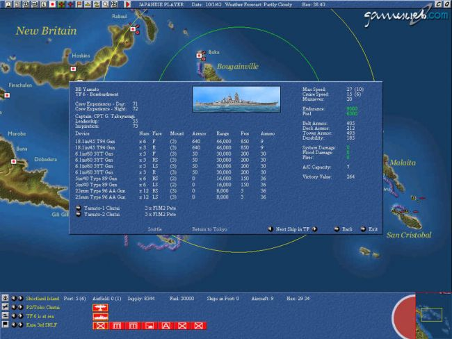 Uncommon Valour: Campaign for the South Pacific  Archiv - Screenshots - Bild 9